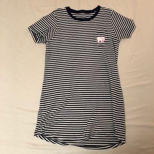 Striped Ivory Ella dress size small